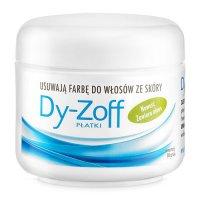 Barbicide Dy-Zoff, płatki do wycierania farby ze skóry, 80 szt