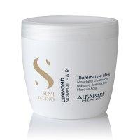 Alfaparf Semi di Lino Diamond, maska rozświetlająca do włosów normalnych, 500ml