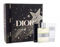 Christian Dior Eau Sauvage, zestaw: EDT 100 ml + Żel pod prysznic 50 ml + EDT 10 ml (M)