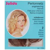 Solida, siatka na włosy Perlon, 2szt