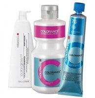 Goldwell Colorance Color Infuse, zestaw do koloryzacji: krem koloryzujący + oksydant + szampon