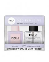 NCLA So Gelly!, zestaw lakier+top do paznokci, As If, 2x15ml