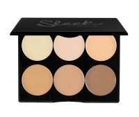 Sleek Makeup Cream Contour Kit, kremowa paleta do konturowania, Light