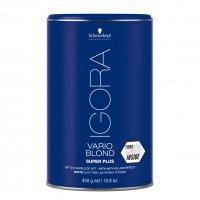 Schwarzkopf Igora Vario Blond Super Plus, bezpyłowy rozjaśniacz do 8 tonów, 450g