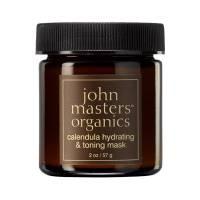 John Masters Organics, nawilżająco-tonizująca maseczka do twarzy z nagietkiem, 57g