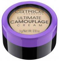 Catrice Ultimate Camouflage Cream, trwały, kremowy korektor, W Fair 015, 3g