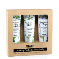 Anwen, zestaw 3 odżywek do niskiej porowatości (akacja, bez, zielona herbata)