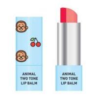 Skin79 Animal Two-Tone Lip Balm, balsam do ust w sztyfcie, Cherry Monkey, 3,8g