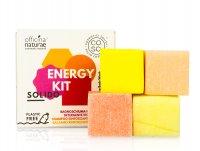 CO.SO, energetyzujący zestaw do pielęgnacji włosów i ciała, 4x25g