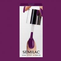 Semilac One Step Hybrid, lakier hybrydowy, 5ml, S760 Hyacinth Violet