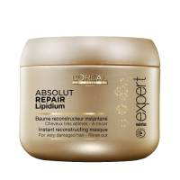Loreal Absolut Repair Lipidium, maska regenerująca włosy uwrażliwione, 200ml