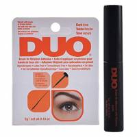Ardell Duo, Brush on with Vitamins Black, klej do rzęs w pędzelku, czarny, 5g