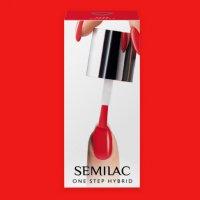 Semilac One Step Hybrid, lakier hybrydowy, 5ml, S530 Scarlet