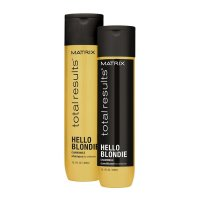 Matrix Hello Blondie, zestaw do włosów blond, 300ml + 300ml