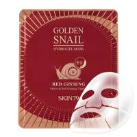 SKIN79 Golden Snail, hydrożelowa maska ze śluzem ślimaka i czerwonym żeń-szeniem, 25g