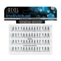 Ardell Individual, Duralash Knotted Flares Long Black, kępki rzęs, czarne długie