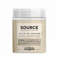 Odżywcza maska do włosów suchych i uwrażliwionych Loreal Source Essentielle Nourishing, 500ml - uszkodzone zamknięcie