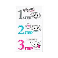 Holika Holika, Pig Clear 3step Kit No Water, plastry na nos
