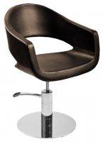 Fotel fryzjerski Fox Atlanta, brązowy