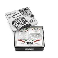Proraso Vintage, zestaw do golenia skóry wrażliwej Toccasana, White, 2x100ml + 150ml