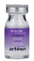 Artego Rescue, ampułki przeciw wypadaniu włosów, 10x8ml