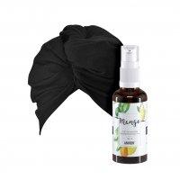 Anwen, zestaw do olejowania włosów, 50ml + turban