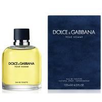 Dolce & Gabbana Pour Homme, woda toaletowa, 125ml, Tester (M)