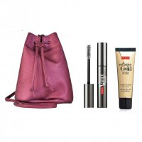 PUPA, zestaw do makijażu Vamp! Mascara Explosive Lashes + rozświetlacz Extreme Gold Sparkling All Over