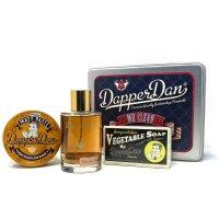 Dapper Dan Mr Clean, zestaw dla mężczyzn: mydło, pomada, woda kolońska