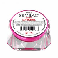 Semilac UV Gel Expert Natural, żel do paznokci, 50ml