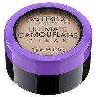 Catrice Ultimate Camouflage Cream, trwały, kremowy korektor, C Almond 025, 3g