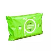 PDI Sani Cloth Universal, chusteczki do dezynfekcji małych powierzchni i sprzętu, 100szt.