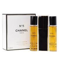 Chanel No. 5, woda perfumowana, 3x20ml (W)
