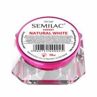 Żel do paznokci Semilac UV Gel Expert Natural White, 50ml - krótka data ważności (10.2019)