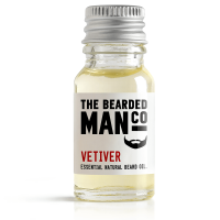 Bearded Man Vetiver, olejek do brody Wetiweria, 10ml
