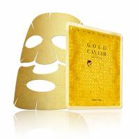 Holika Holika Prime Youth Gold Caviar, złota maska na płachcie