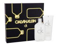 Calvin Klein CK One, zestaw: EDT 100 ml + żel pod prysznic 100 ml (U)