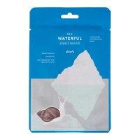 Skin79 The Waterful Snail Mask, nawilżająco-kojąca maska w płachcie, 20ml