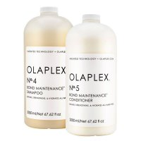 Olaplex Bond Maintenance, zestaw XL odbudowujący, No. 4 + No. 5, 2x2000ml