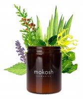 Mokosh, roślinna świeca sojowa, Orientalny ogród, 140g