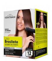Placenta Life Keratimask, zestaw do keratynowego prostowania włosów