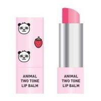 Skin79 Animal Two-Tone Lip Balm, balsam do ust w sztyfcie, Strawberry Panda, 3,8g