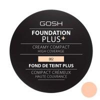 Gosh Foundation Plus+, podkład w kompakcie, 9g