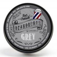Beardburys, koloryzujący wosk do włosów, siwy, 100ml