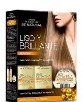 Placenta Life Liso Brillante, wygładzający zestaw do pielęgnacji włosów prostych
