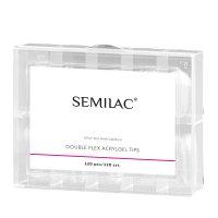 Semilac Doubleflex Acryl Gel Tips, tipsy do akrylożelu