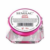 Żel do paznokci Semilac UV Gel Expert Rosa, 50ml - krótka data ważności (2.2020)