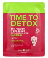 Montibello Smart Touch, maska w płachcie Time To Detox nasączona serum, 30ml