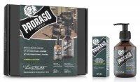 Proraso, zestaw: olejek + szampon do brody, Cypress&Vetyver , 200ml + 30ml