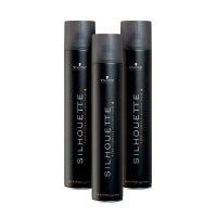 Schwarzkopf Silhouette, bardzo mocny lakier do włosów, wielopak, 3x750ml